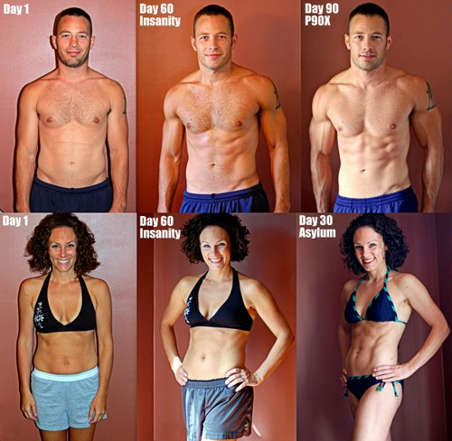 Fit Mom: Katee Roberts... P90x Results Women Obese