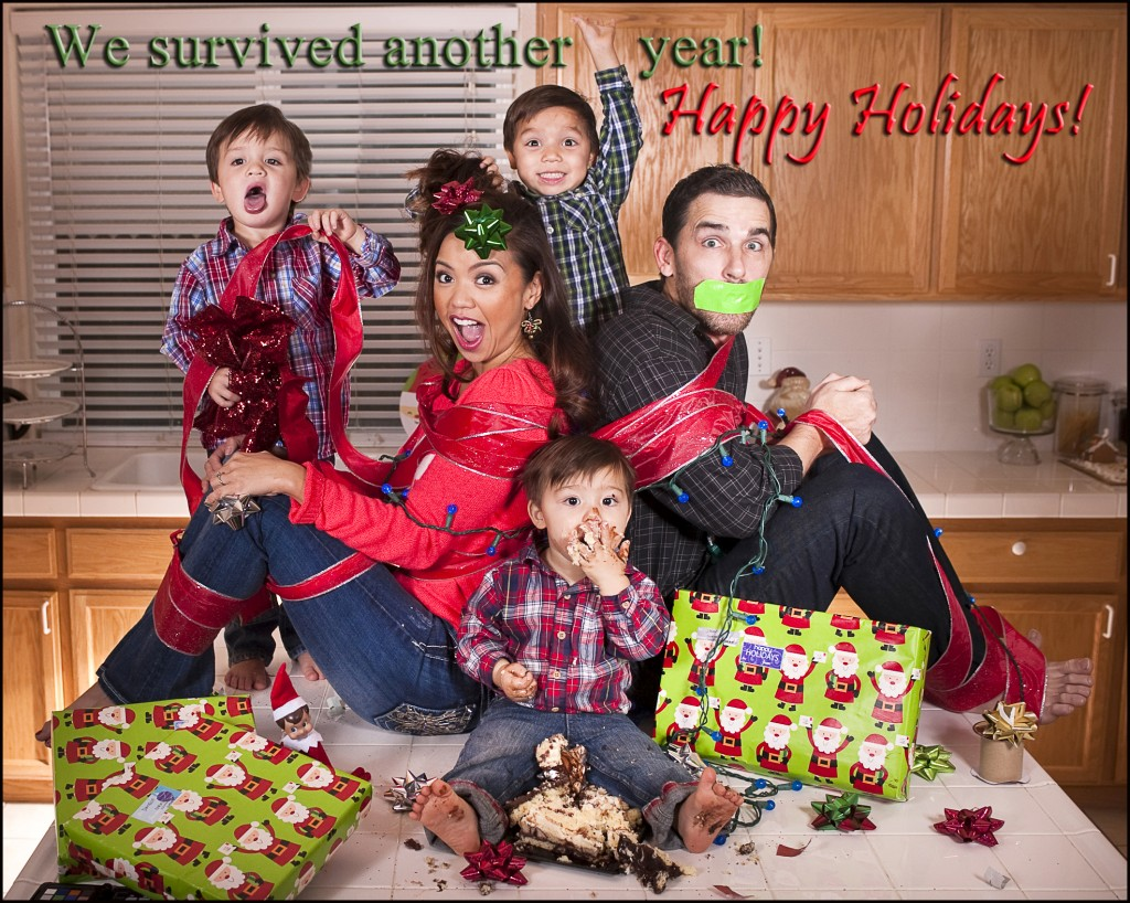 Living a limit less life maria kang for The best short time holiday family pictures ideas