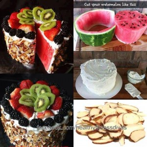 Fresh Watermelon Cake Icing Recipe
