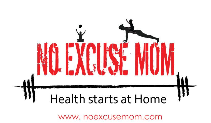 no excuses mom logo