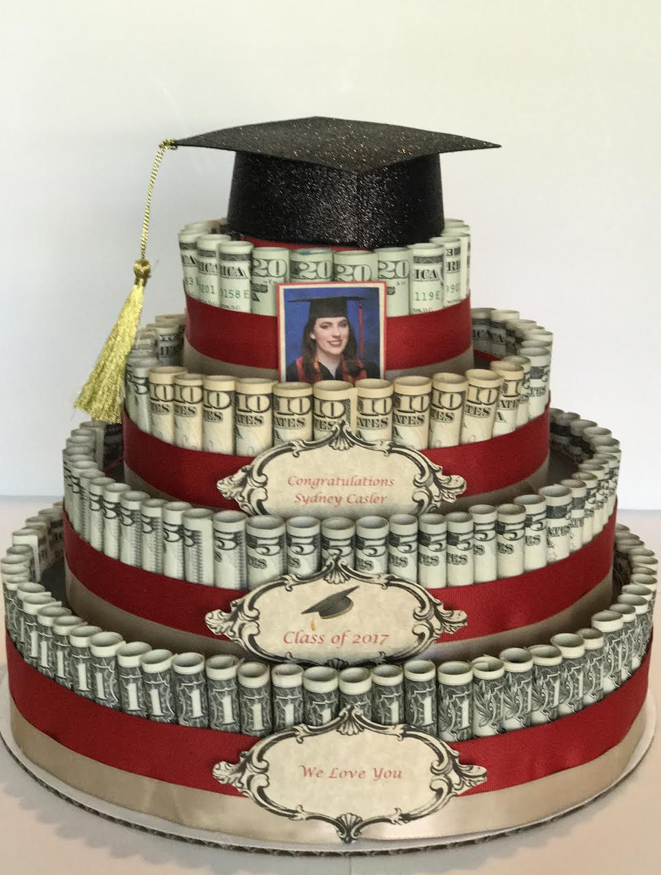 How I Built My Stepdaughters Money Cake
